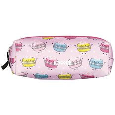 Kookie Sweets Tube Pencil Case Pink