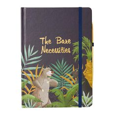 Disney Jungle Book A5 Notebook & Pen Set Navy A5