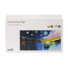 Uniti Crystal Art 35 x 70cm Starry Night