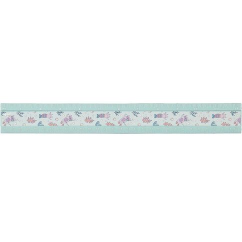 Kookie Cat-Y-Maid Plastic Ruler 30cm