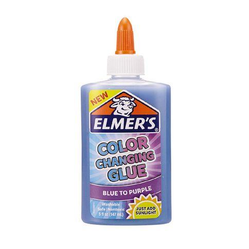 Elmer's Colour Changing Glue Blue to Purple 147ml