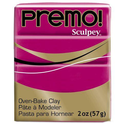 Sculpey Premo Accent Clay 57g Fuschia Pink