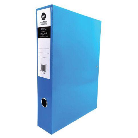 WS Pressboard Box File Fs Blue