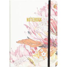 No Brand Flower PU Notebook A5