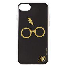 Harry Potter iPhone 6+/7+/8+ Glasses Case Black