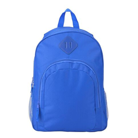 Classic Backpack With Laptop Pocket Blue