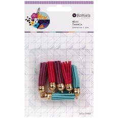 Rosie's Studio Here & Now Mini Tassels 6 Piece