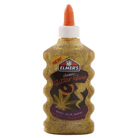 Elmer's Glitter Glue 177ml Gold