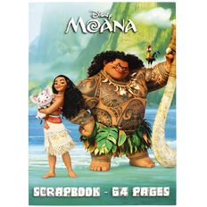 Moana Scrapbook 64 Page Multi-Coloured