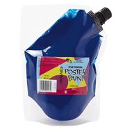 Fivestar Tempera Poster Paint Pouch Blue 750ml Blue 750ml