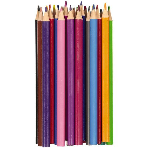 Kookie Coloured Pencils Jumbo 24 Pack