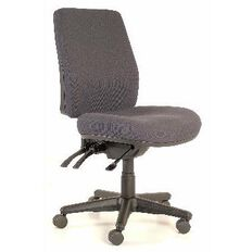Buro Roma 3 Lever Highback Chair Charcoal