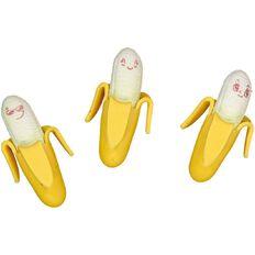 Kookie Novelty-P Eraser Banana 3 Pack