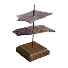 Spirax Spike File Wooden Base