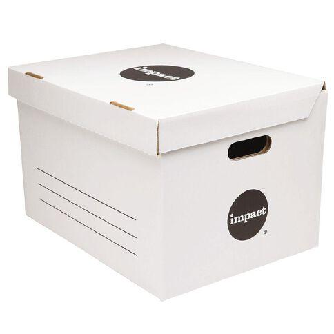 Impact Jumbo Archive Box White