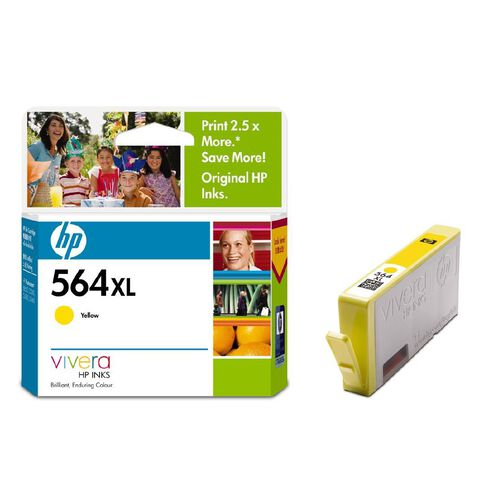 HP Ink 564XL Yellow (750 Pages)
