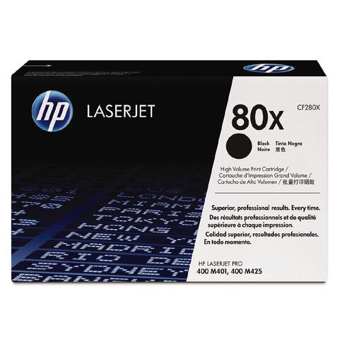 HP Toner 80X Black (6900 Pages)