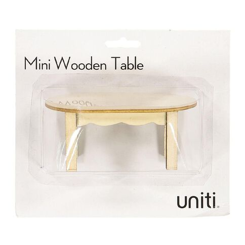 Uniti DIY Wood Mini Table
