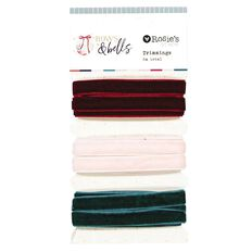 Rosie's Studio Bows & Bells Mixed Trim Set 6 Metres