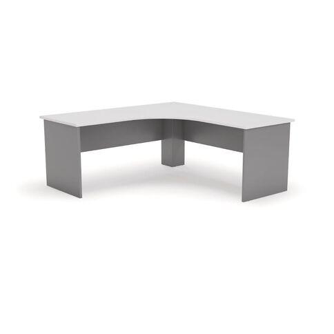 Ergoplan Workstation 1800 Silver/White White/Silver