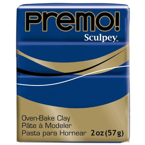 Sculpey Premo Accent Clay 57g Ultramarine Hue Blue