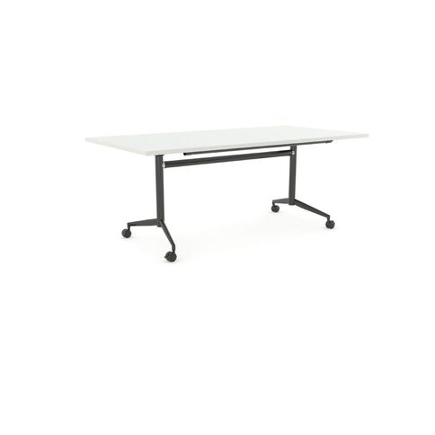 Team Flip Table 1800 x 900 White/Black