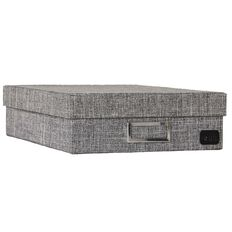 Uniti Storage Box RPET Grey A4