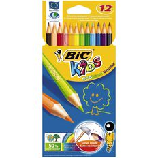 Bic Kids Evolution Colouring Pencils 12 Pack Multi-Coloured