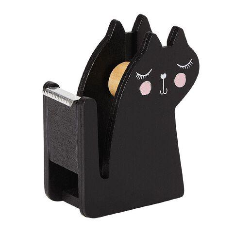 Kookie Novelty20 Black Cat Tape Dispenser