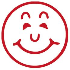 Xstamper Stamp Smiley Red