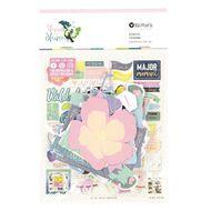 Rosie's Studio Thrive and Shine Cardstock Diecuts 120 Piece