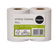 Impact Eftpos Roll 57 x 40mm Twin Pack
