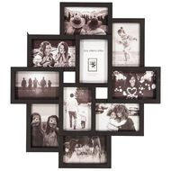 Living & Co Collage Frame 10 Opening Black