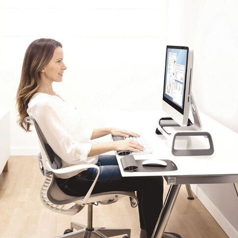 Fellowes I-Spire Monitor Stand White