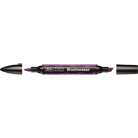 Winsor & Newton Brushmarker Single Purple Purple