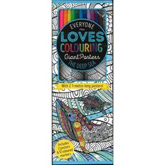 Colouring Posters In Box The Deep Sea