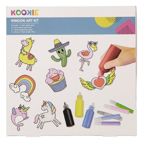 Kookie Window Art Kit