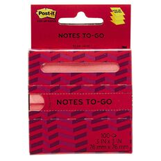Post-It Pop-up Notes To Go Assorted