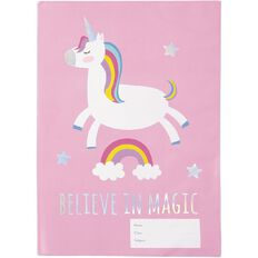 Kookie Unicorn Book Sleeve A4
