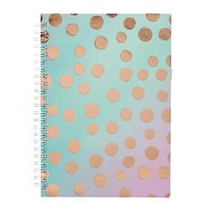 Uniti Fun & Funky Q3 Softcover Notebook Gold Foil 60 Sheets A5