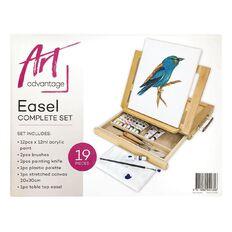 Art Advantage Art Set Complete Easel Box