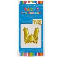 Artwrap Foil Balloon W Gold 35cm