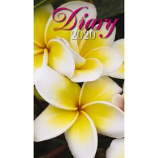 Bartel 2020 Pocket Diary Flowers 90mm x 157mm