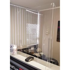Boyd Visuals Counter Top Barrier Large Cutout