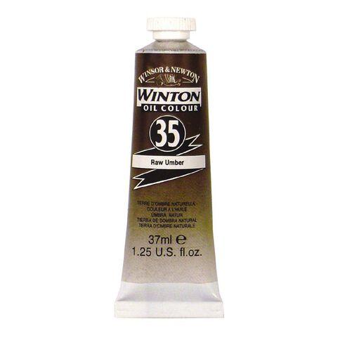 Winsor & Newton Winton Oil Paint 37ml Raw Umber Brown