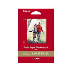 Canon Photo Paper Glossy Photo Ii 265gsm 4 x 6 20 Pack