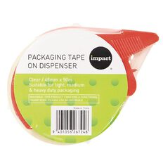 WS Packaging Tape On Dispenser Clear 48mm x 50m