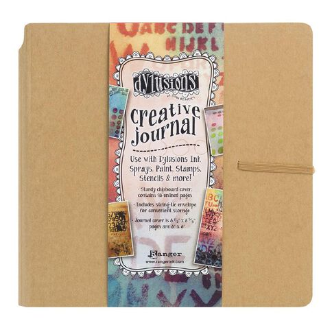 Ranger Dylusions Journal Creative Journal Square