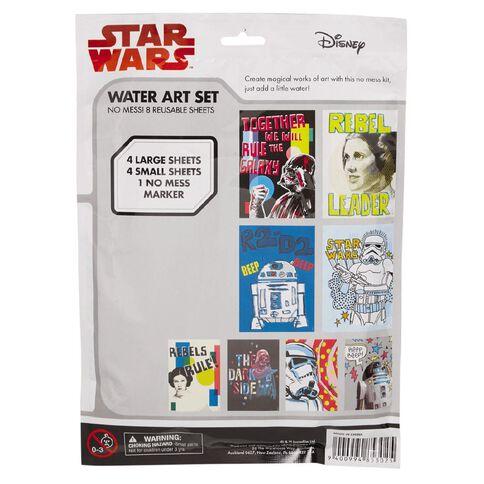 Star Wars Water Art Set