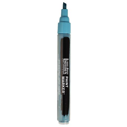Liquitex Professional Acrylic Marker 2-4mm Cobalt Turquoise